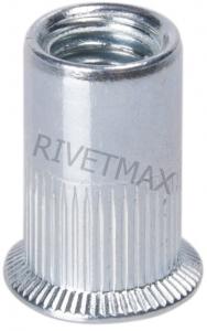 Заклепка гайка с потайным бортом М8 L18,5