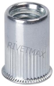 Заклепка гайка с уменьшенным потайным бортом М6 L14,0