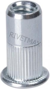Заклепка гайка с плоским бортом М6 L19,5